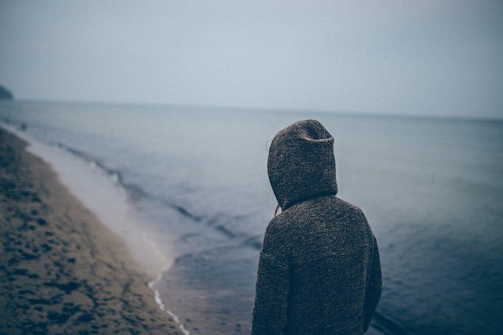 person, human, beach